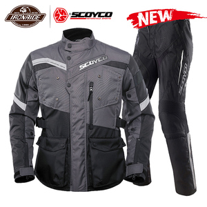 SCOYCO Men Motorcycle Jacket W
