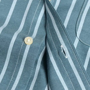 Image 5 - Mannen Shirt Lange Mouw Regular Fit Mannen Plaid Shirt Gestreepte Shirts Mannen Jurk Oxford Camisa Sociale 5XL 6XL Grote Maten streetwear