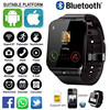 20219 Professional DZ09 Smart Watch 2G SIM TF Camera Waterproof Wristwatch GSM Phone Large-Capacity SIM SMS Watches For Android
