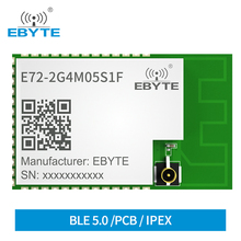 CC2652RB 2.4Ghz 5dBm Wireless Module E72 2G4M05S1F Ebyte 350m Bluetooth Zigbee SMD IPEX Transceiver RF Transmitter Receiver