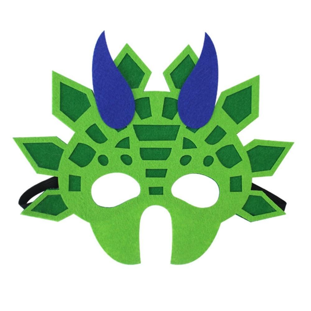 5pcs-Joyful-Funny-Lightweight-Felt-Cosplay-Creative-Animal-Mask-Dinosaur-Mask-for-Kid-Halloween-Party-Child (2)