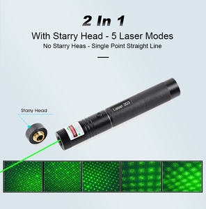 Image 2 - Green Laser Pointer Presenter Laser Light High power Laser Pen Powerful Laserpointer 18650 Lazer Point for Outdoor Teaching