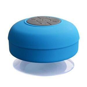 Image 2 - Bluetooth Lautsprecher Tragbare Mini Wireless Wasserdicht Dusche Lautsprecher für Telefon MP3 Bluetooth Empfänger Hand Frei Auto Lautsprecher