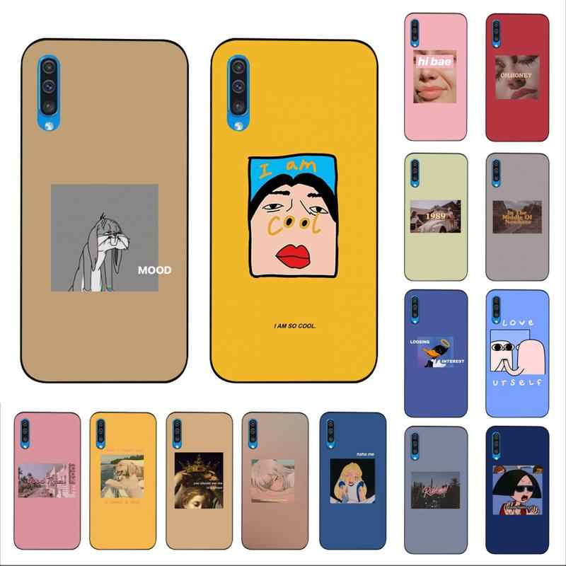 Maiyaca Grappige Foto 'S Tekst Telefoon Case Voor Samsung A10 20 S 71 51 10 S 20 40 50 70 A30s cover