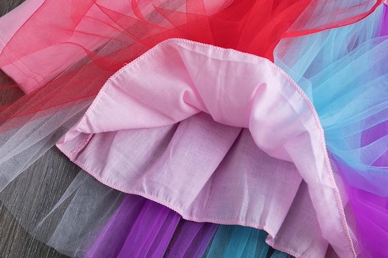 H73445cac11bd45a18bddd2014d484f6dW Petals Designs Girl Dress Children Party Costume Kids Formal Events Vestidos Infant Tutu Flower Dress Fluffy Wedding Gown 3 5 7T