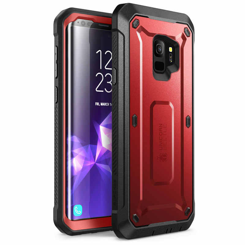For Samsung Galaxy S9 Case (2018 Release ) SUPCASE UB Pro Full-Body Rugged Holster Cover Case with Built-in Screen Protector