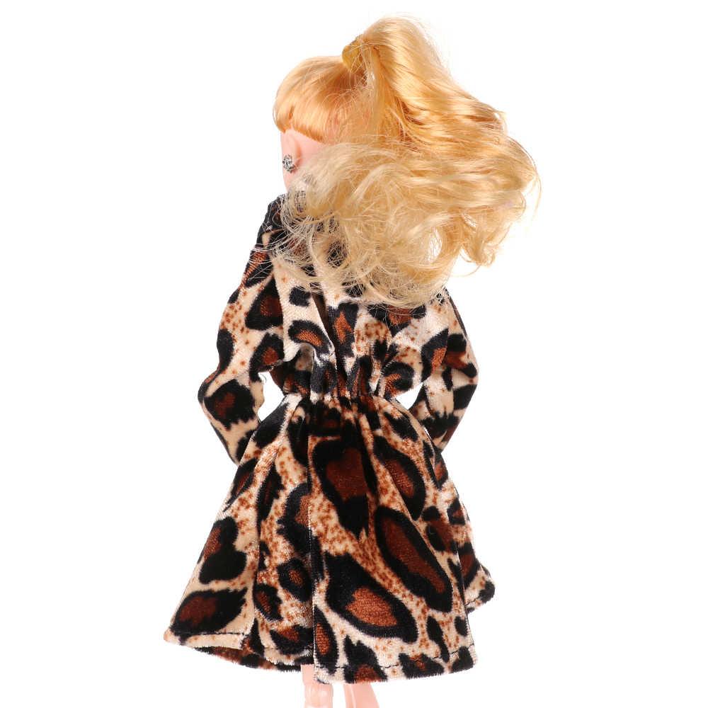 Vòng Tay Nhiều Màu Mini Áo Len Dệt Kim Áo Khoác Lông Thú Phụ Kiện Búp Bê Áo Đầm Suông Phối Quần Áo Cho Búp Bê Barbie Đồ Chơi Trẻ Em