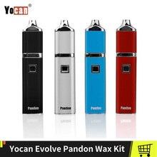 цена на 100% Original Yocan Evolve Pandon Kit With QDC Coils 1300mAh Wax Vape Pen Mod  Dry Herb Vaporizer Electronic Cigs