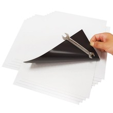 5Pcs 0.75mm self adhesive soft rubber Magnetic Sheet board For Spellbinder Dies/Craft Strong Thin And Flexible 297x210mm