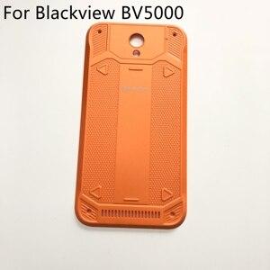 Image 1 - 使用オリジナル Blackview BV5000 バッテリーカバーバックシェル修理交換用アクセサリー Blackview BV5000 無料船 + トラック