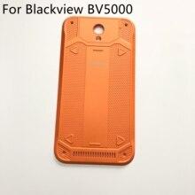 Verwendet Original Blackview BV5000 batterie abdeckung zurück shell reparatur ersatz zubehör für Blackview BV5000 Freies schiff + Track