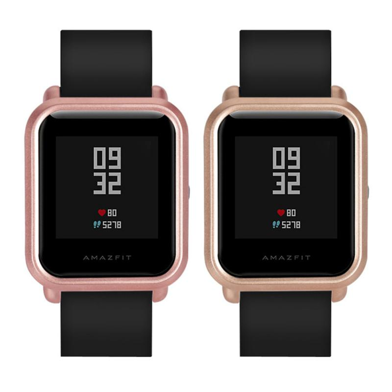 NEW Screen Protective Case For Huami Amazfit Bip Youth Watch Hard PC Shell For Amazfit Bip Cover Frame Protect Accessories TSLM1