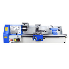 CQ6125 Multi-function High Precision Metal Lathe Micro Woodworking Bench Machining Center Small Household