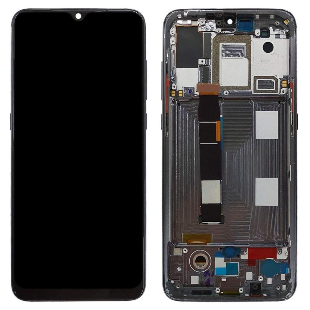 6.39 inch LCDs For <font><b>Xiaomi</b></font> <font><b>Mi9</b></font> LCD <font><b>Display</b></font> with Touch Screen Digitizer Assembly Replacement with Frame For <font><b>Xiaomi</b></font> <font><b>MI9</b></font> Phone LCDs image