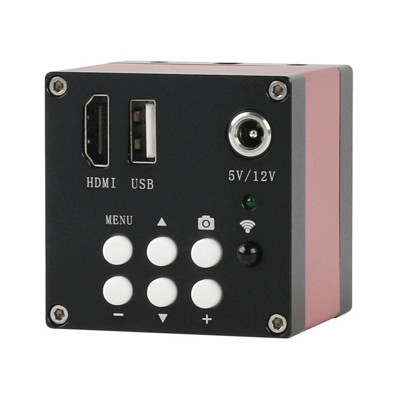 16MP 1080P SONY capteur HDMI industriel électronique numérique vidéo Microscope PCB C montage caméra U disque stockage vidéo avec des images