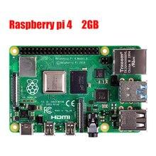 최신 라즈베리 파이 4 모델 B 2GB RAM BCM2711 쿼드 코어 Cortex A72 ARM v8 1.5GHz 지원 2.4/5.0 GHz 재고 있음