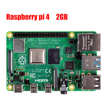 Latest Raspberry Pi 4 Model B with 2GB RAM BCM2711 Quad core Cortex A72 ARM v8 1.5GHz Support 2.4/5.0 GHz In stock