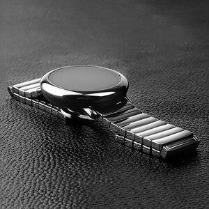 Image 5 - 22mm pulseira de relógio cerâmica para honra magic 2 46mm gt2 gt2e pulseira de relógio