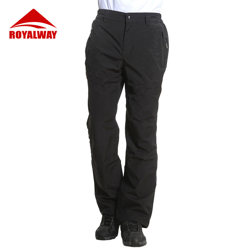 ROYALWAY Outdoor Fashion Hiking Pants Quick Dry Breathable Waterproof Loose Trekking Fishing Trousers Men Sports ROM3020CS