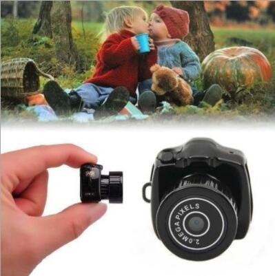2019 New Y2000 Mini Camera Camcorder HD 1080P Micro DV DVR Camcorder Portable Webcam Recorder Camera image