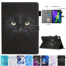 For Samsung Galaxy Tab S6 Lite Case 10.4 inch SM-P610 P615 Cartoon Black Car Leather Cover For Samsung Tab S6 Lite Cover Cases(China)