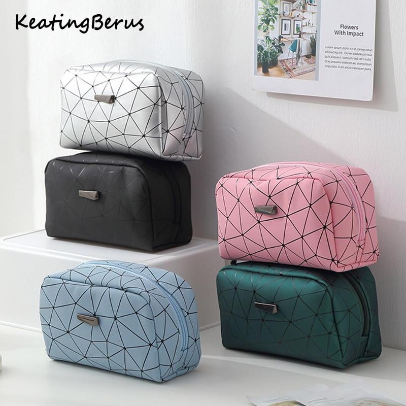 New Fashion Women Make Up Bag Women Travel Organizer Makeup Bag Toiletry Kit Cosmetic Bag Cases
