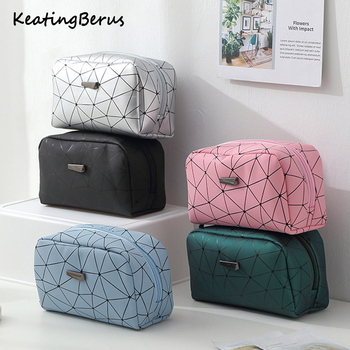 new fashion women make up bag travel organizer makeup toiletry kit cosmetic cases - discount item  29% OFF Special Purpose Bags