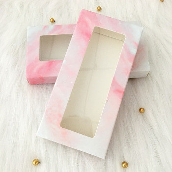 20pcs/lot 50pcs/lot Mink Lash Box Lashes Tray Insert Eyelash Marble Packaging