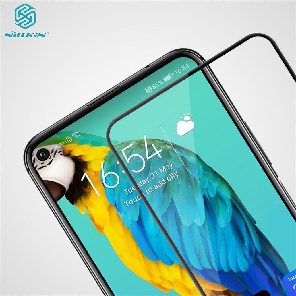 Para Huawei Honor 20 20S Vidro Temperado Honor 20 Pro CP + PRO Anti-Explosão Nillkin Vidro completo protetor de tela Para Huawei Nova 5T