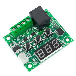 Image 4 - 1 Pcs W1209 Dc 12V Warmte Cool Temp Thermostaat Temperatuur Schakelaar Temperatuurregelaar Thermometer Thermo Controller