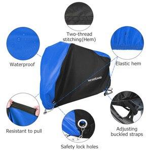 Image 4 - Cubiertas protectoras para motos, impermeables, negras, azules, 190T, para motores, polvo, lluvia, nieve, protección UV, para interiores, M L XL XXL XXXL D35