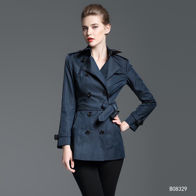 2019 New Spring Autumn Women coat   trench   winter women's   trench   coat women casual short coat Plus Size 2XL Windbreaker