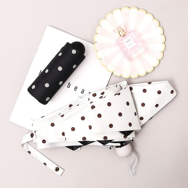 Mini Paraguas lluvia mujeres Paraguas Mini Paraguas Plegable Mujer niños Paraguas Guarda Chuva Paraguas Sombrilla Ombrello Sombrilla