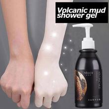 250ml Whitening Cream Bleach Dark Skin Body Lotion Cream Skin Smooth Moisturizing Volcanic Mud Shower Gel Wash Away Roughness