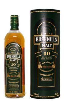Bushmills Single Malt 10yrs Vol.40% irish Whiskey 0.7 liter