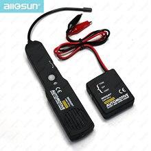 Automotive krótka i wyszukiwarka otwartych obwodów Tester przewód drutu Tracer dla linii tonowej przewody pomiarowe All Sun EM415pro