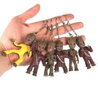 Baby Groot Keychains Guardians of The Galaxy 3