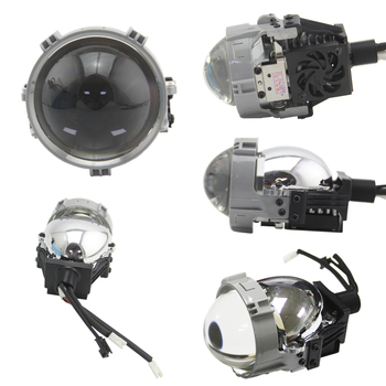 Bedehon 2.5 Inch LHD RHD Bi-LED Projector Lens Biled 2 PCS for Angle Eyes bmw e90 for  bmw e60, bmw e39, bmw e36 optima premium biled lens professional series