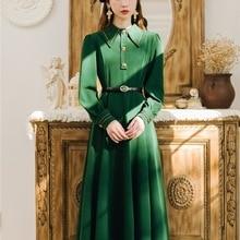Новая модная женская одежда зимние платья платье с длинным рукавом