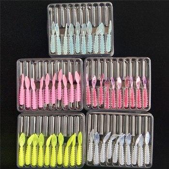 TSURINOYA, 50 Uds., señuelo de pesca suave, 36mm, 0,4-0,5g, Swimbait Wobbler Jig, cebo de gusano de silicona