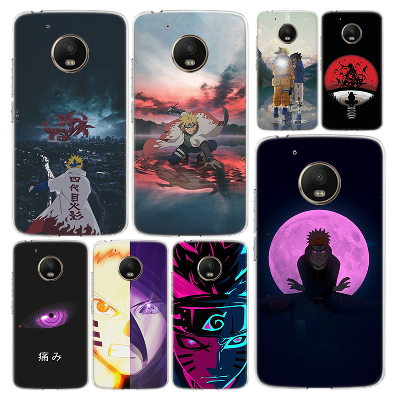 Anime Naruto Japan Phone Case Cover For Motorola Moto G8 G7 G6 G5 G5S G4 E6 E5 E4 Power Plus Play One Action Macro Vision Coque