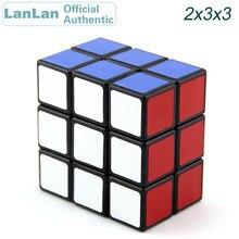 купить LanLan 2x3x3 Magic Cube 233 Cubo Magico Professional Speed Puzzle Antistress Fidget Educational Toys For Children онлайн