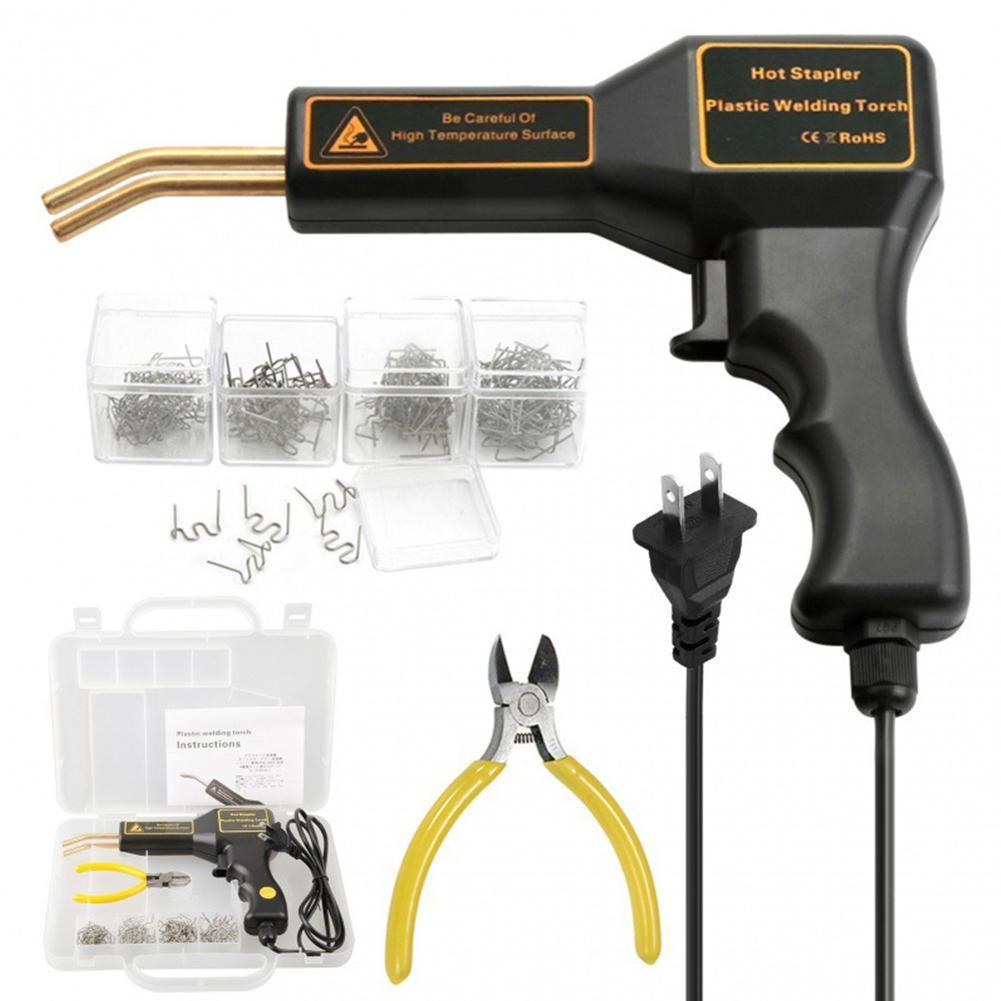 Car Plastic Bumper Repair Tool Parts Welding Fuser Gun Bumper Collision Tool Repair Welding Y4V1