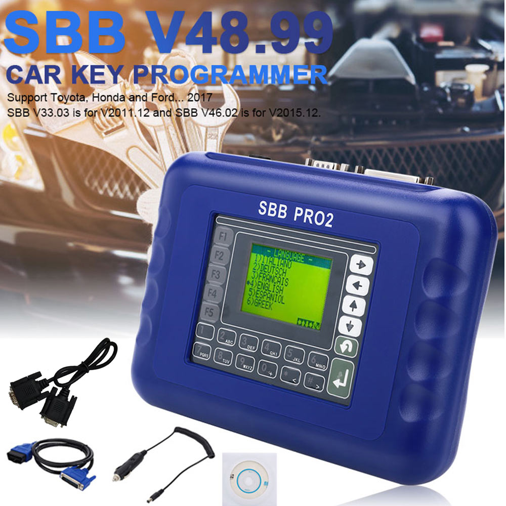 Universal Key Programmer Tool Maintenance Reader Scanner V48.99 SBB Pro2 Cars Car Accessories Remote Auto Key Programmer