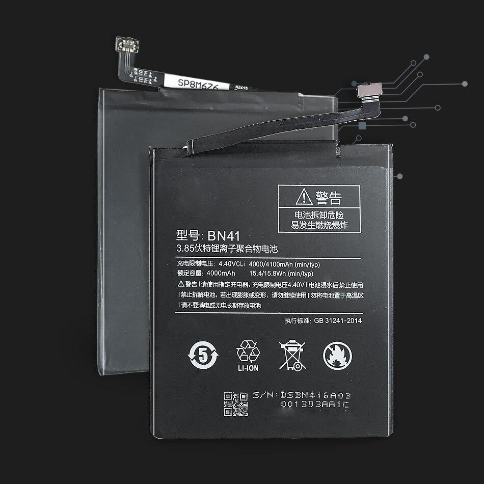 Литий полимерный аккумулятор BN41, Сменный аккумулятор для Xiaomi Redmi Note 4 MTK Helio X20/Redmi Note 4X Pro 4 Гб + 64 ГБ, 4100 мАч Аккумуляторы для мобильных телефонов      АлиЭкспресс