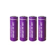 4 PKCELL ER14505 Pin AA 3.6 V 2400 MAh Pin Lithium ER 14505 LiSOCL2 Cell Pin Cho Đồng Hồ Định Vị GPS, máy Ảnh