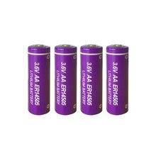 4 pièces PKCELL ER14505 batterie 3.6v AA 2400mah batteries au lithium er 14505 liSOCL2 batteries cellulaires pour le suivi GPS, caméras