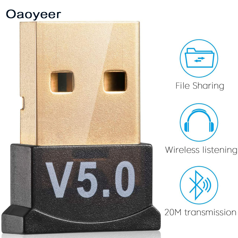 USB Bluetooth 5,0 адаптер передатчик Bluetooth приемник аудио Bluetooth ключ беспроводной USB адаптер для компьютера ПК ноутбука Беспроводные адаптеры      АлиЭкспресс