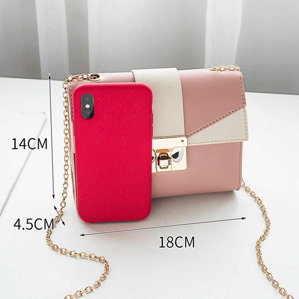 Tas Selempang untuk Wanita 2019 Fashion Wanita Bahu Ransel Huruf Dompet Mobile Ponsel Messenger Tas Tas Wanita
