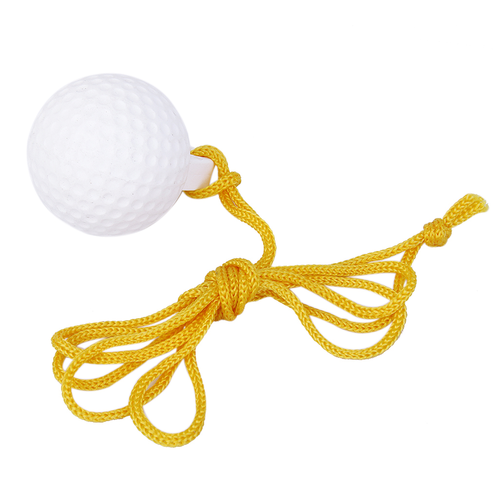 Golf Driving Range Ball Swing Hit Shot Training Aids Practice With 1.2m Rope Golf Accessories For Indoor Outdoor Golf Practice